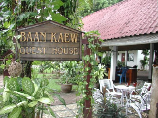 Baan Kaew Guesthouse : Welcome to Baan Kaew Guest House