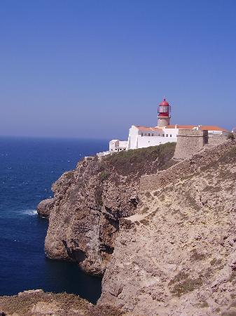 Algarve, Portekiz: Cabo de St Vicente. Most South westerly point on mainland Europe