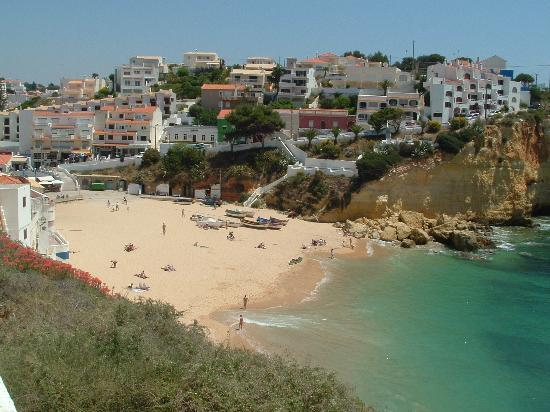 Algarve, Portugal: Praia de Carvoeiro