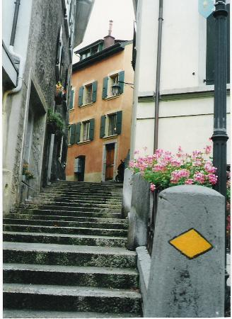 Altstadt Montreux: Old Town Stairs