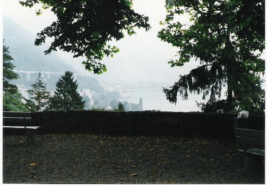 Altstadt Montreux: Views from the Church