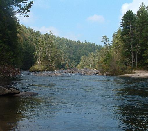 Chattooga River: Chatooga River at Sandy Ford