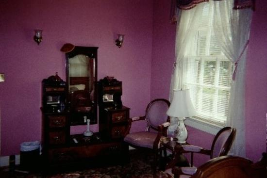 The Book and the Spindle : A view of the room where I stayed