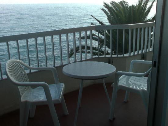 Hotel Le Dauphin: The balcony