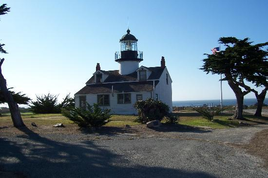 Point Pinos Lighthouse: View of Lighthouse