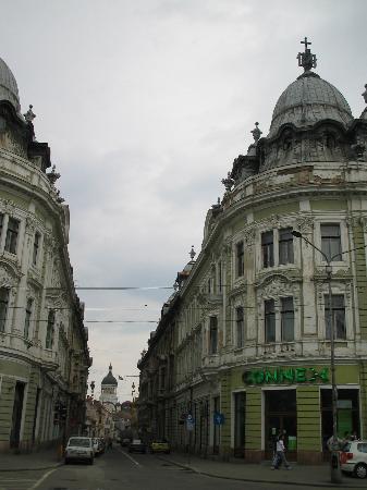 Cluj-Napoca, رومانيا: small street downtown Cluj