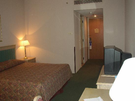 Hilton Alger: View of room towards the door