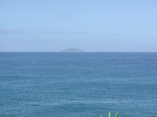 Parador Villa Antonio: Desecheo Island in the distance