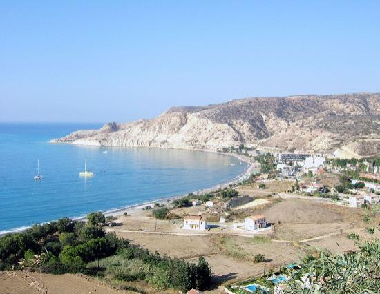 Columbia Beach Resort Pissouri: Pissouri Bay