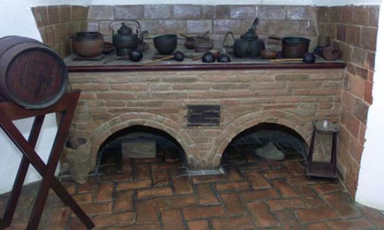 La Fortaleza - Palacio de Santa Catalina: Old Kitchen