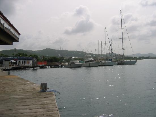 Colony Cove Beach Resort : Christiansted harbour