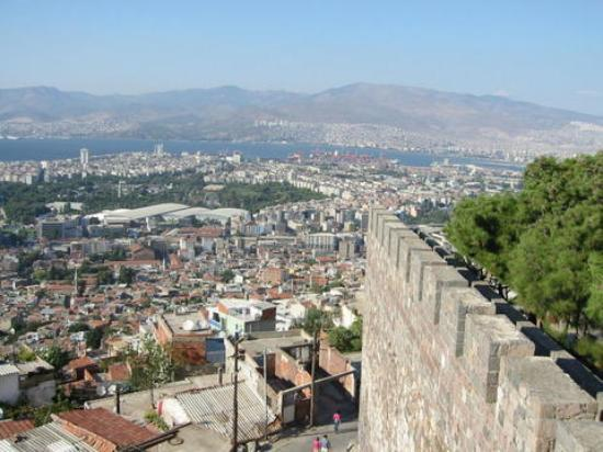 View of Izmir from the ramparts