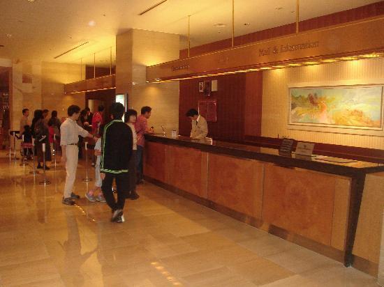 Hilton Tokyo Bay: Check in Registration Desk