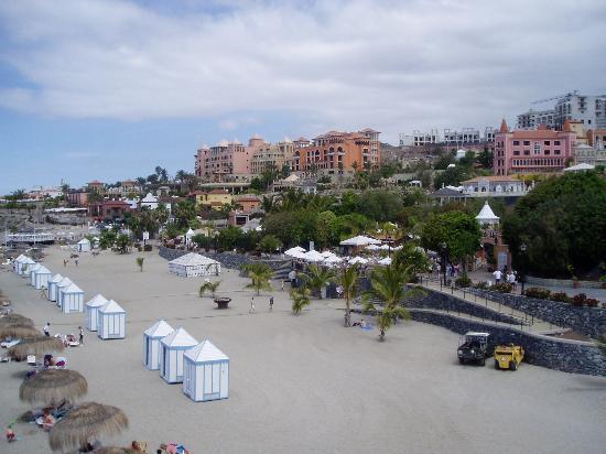 Hotel Riu Arecas: Beach close to hotel