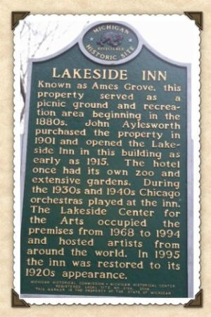Lakeside Inn Historical Marker