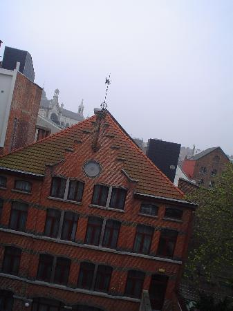 Astrid Centre Hotel Brussels : view from room