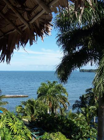 Livingston, Guatemala: View from the balcony
