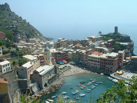 Locanda a Ca du Gigante: Higher on the path overlooking Vernazza