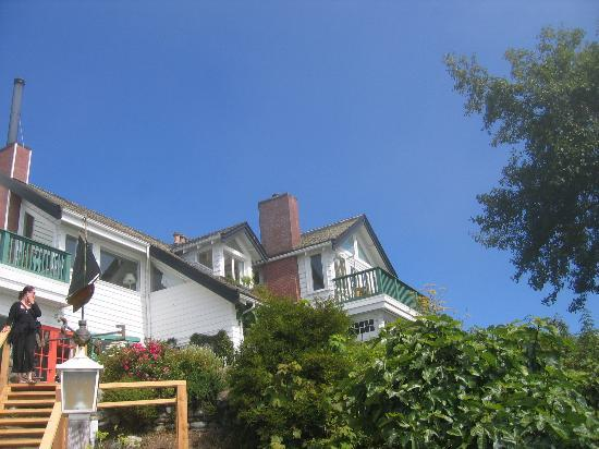 Sooke Harbour House: Our room (top right)