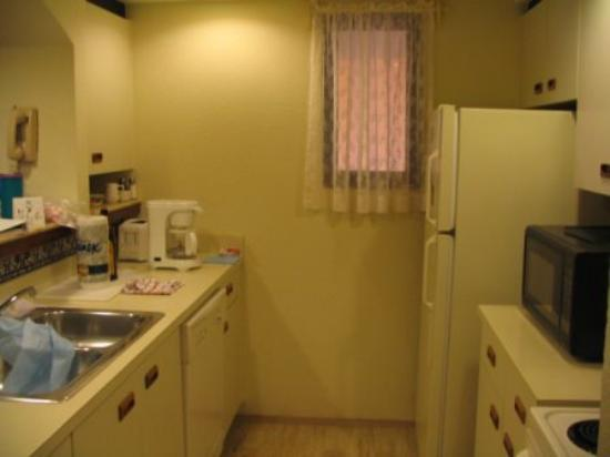 The Royal Caribbean: Kitchen in the condo.