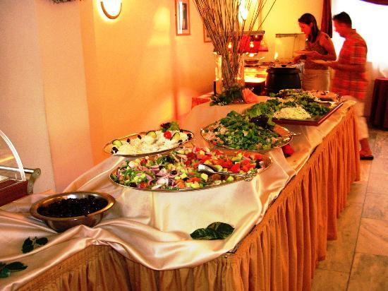 Diana Palace Hotel: the dinner