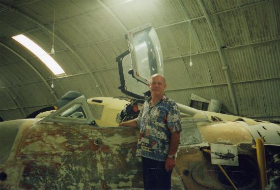 Cerviola Hotel : Aviation Museum Renovating Spitfire 1993