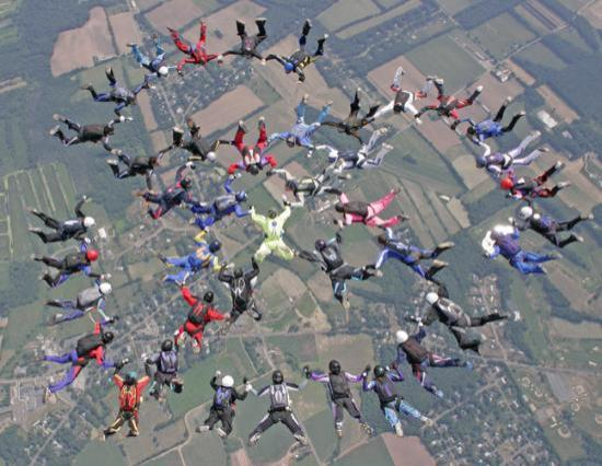 Connecticut Parachutists Inc.: Connecticut State Skydiving Record