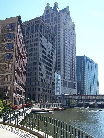 The RiverWalk in downtown Milwaukee makes for a truly unique city experience.