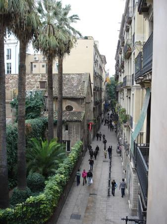 Casa Camper Hotel Barcelona: View from the balcony