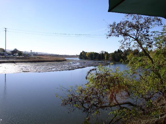 Napa River Inn at the Historic Napa Mill: The river view from the hotel