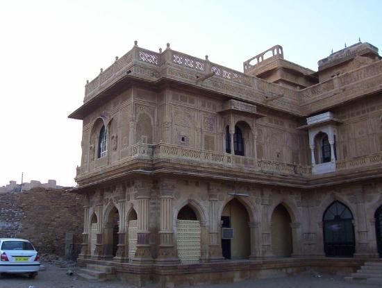 Jaisalmer, India: A view of the mandir palace