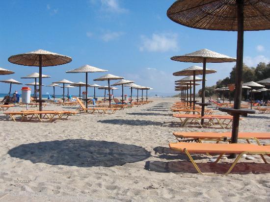 Grecotel Creta Palace Hotel: Beach Area
