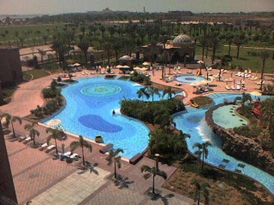 Emirates Palace: View from room left
