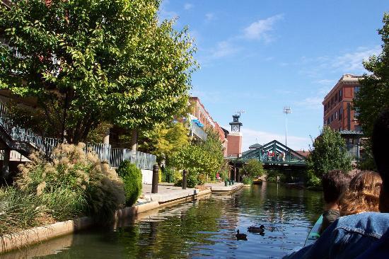 Bricktown: Water taxi ride