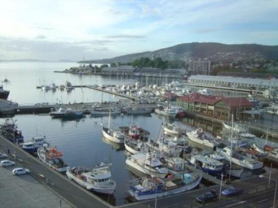 Grand Chancellor Hotel Hobart: Harbour view