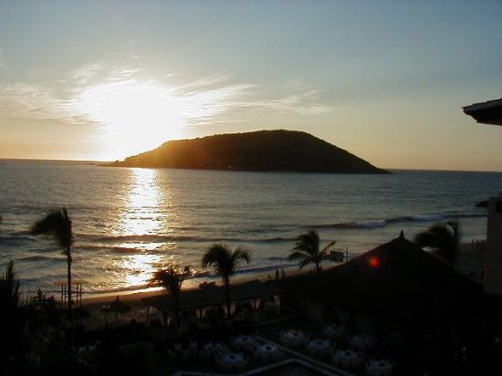 Quijote Inn: Sunset