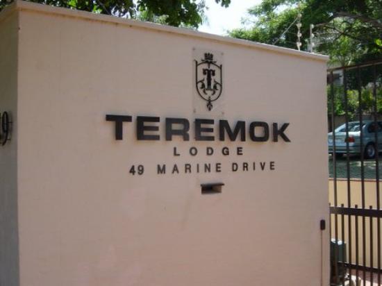 Teremok Marine: Teremok Lodge front gate