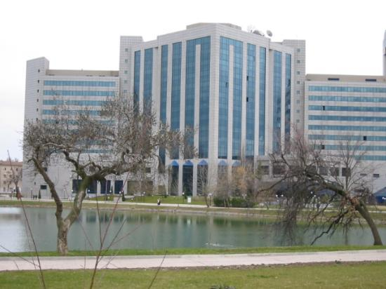Отель International Hotel Tashkent: View of the rear of Intercon