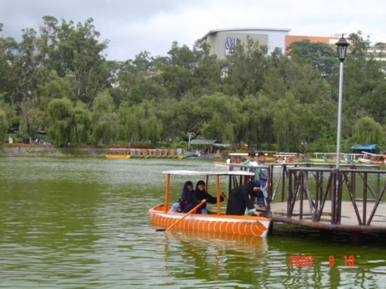 Ridgewood Hotel : Boating in Burnham Park