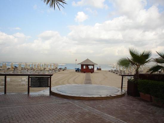 Hilton Dubai Jumeirah : The beach