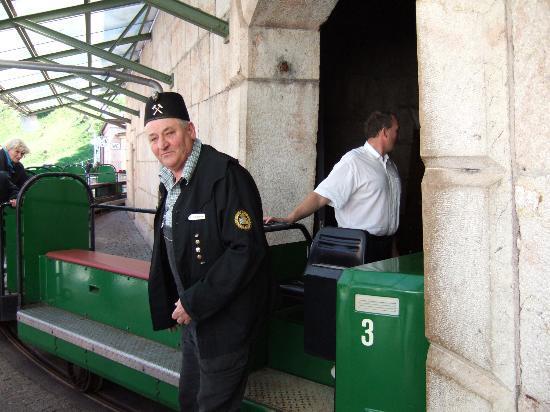 Salzbergwerk Berchtesgaden: Our guide