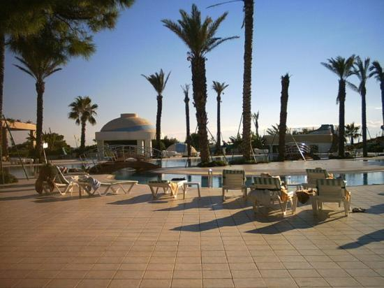 Limak Atlantis Deluxe Hotel & Resort: Pools from hotel