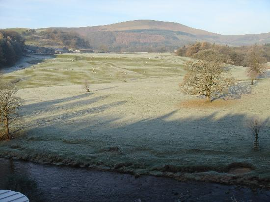 Whitewell, UK: View from room 11