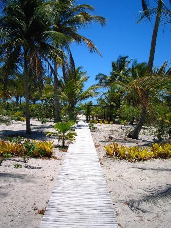 Vila Naiá: The way to the beach