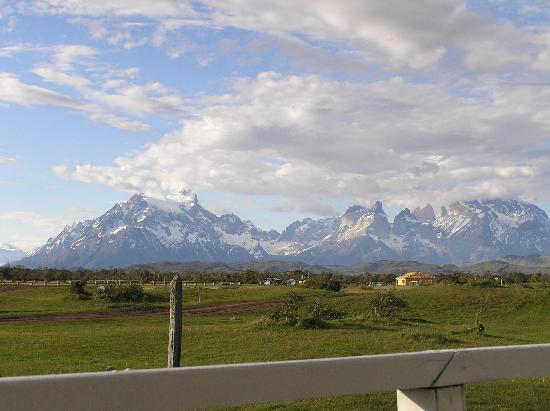 Hosteria Lago del Toro: View from front porch of cabin