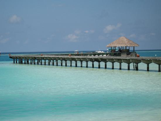 Gili Lankanfushi Maldives: The Pier