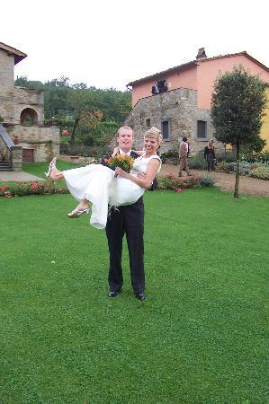 Casa Portagioia: A happy couple at least