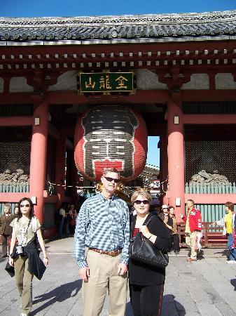 Tokio, Japan: Senso-ji Temple