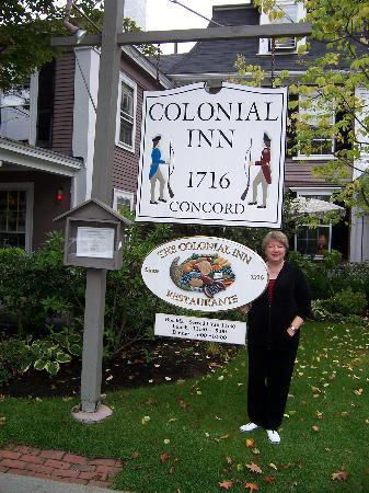 Concord's Colonial Inn: Historic Inn with good restaurant!