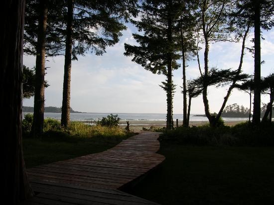 Beach Break Lodge : View from the bedroom
